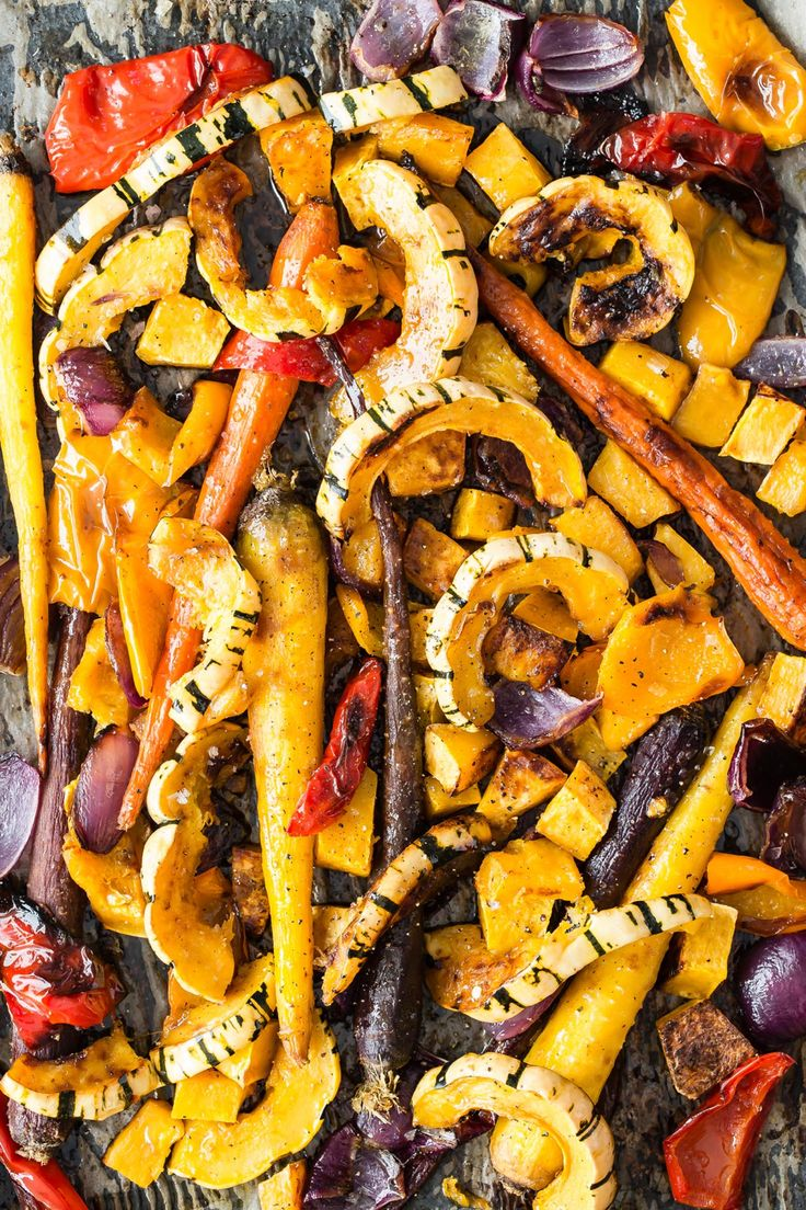 Easy and healthy maple roast vegetables, they're perfect for fall and holida…   – Fall Recipes