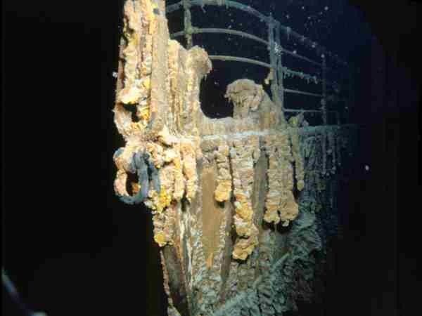 """victorianalexandratitanic:  """" 1st, September 1985: The RMS Titanic is discovered just after midnight by Robert Ballard and his team. A boiler was first spotted.  """""""