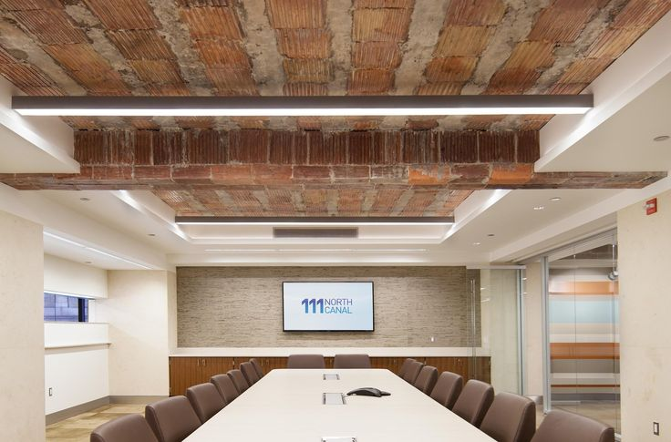 Conference Room Lighting. 111 North Canal | A Light