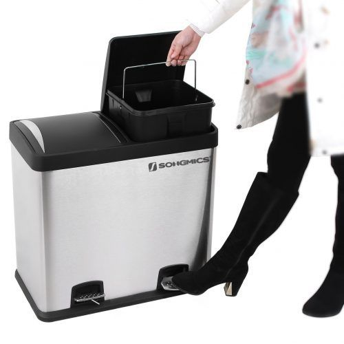 Giveaway: 48L Dual Use Recycling Pedal Bin
