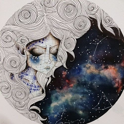 capricorn tumblr drawing - Google Search More