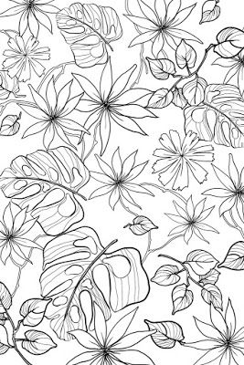 Examples of motif Free Sketch Graphic Design Pattern Jungle Tropical 4, zentangle, Sketch Drawing
