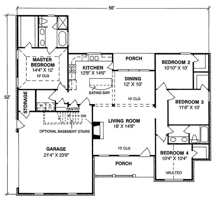 Best 25+ Ranch Floor Plans Ideas On Pinterest