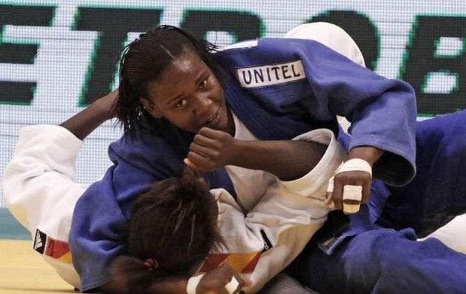 """Judoca Antónia de Fátima """"Faya"""" garante presença nos Jogos Olímpicos de 2016 https://angorussia.com/desporto/judoca-antonia-fatima-faya-garante-presenca-nos-jogos-olimpicos-2016/"""