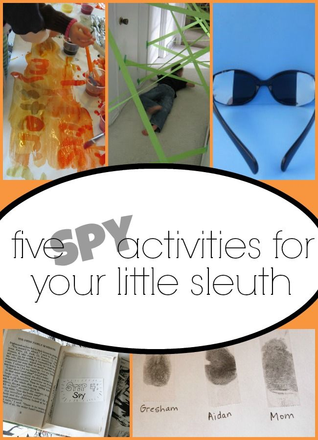Spy activities for kids are at an all time high at our house. I love the create thinking that comes along with this type of pretend play.