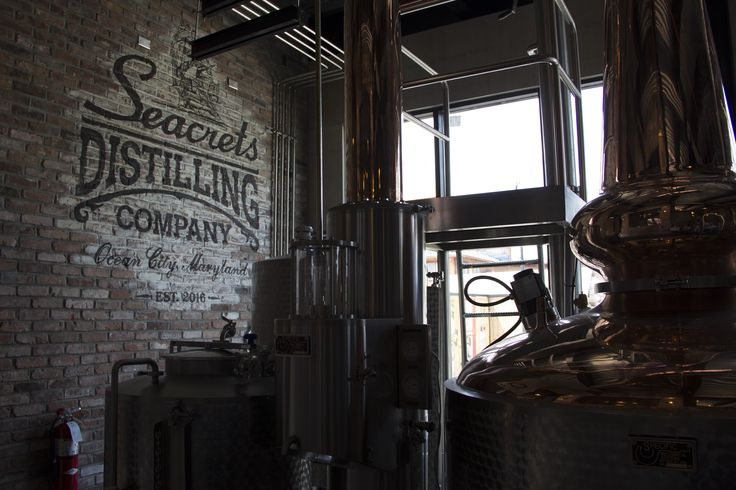 Take a distillery tour at Seacrets Distilling Company in Ocean City and be taken back in time to the Prohibition Era. #ocmd