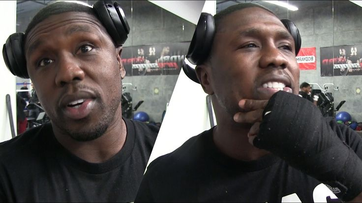 ANDRE BERTO AMBUSHED ON FACETIME BY SHAWN PORTER/REPORTER WHILE TAKING A...
