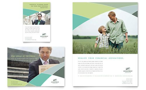 Financial Services   Flyers   Templates & Design Examples