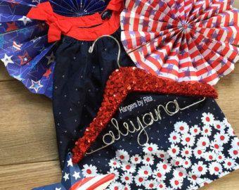 Bling Hanger Sequin Hanger aangepaste Hanger van HangersbyR op Etsy
