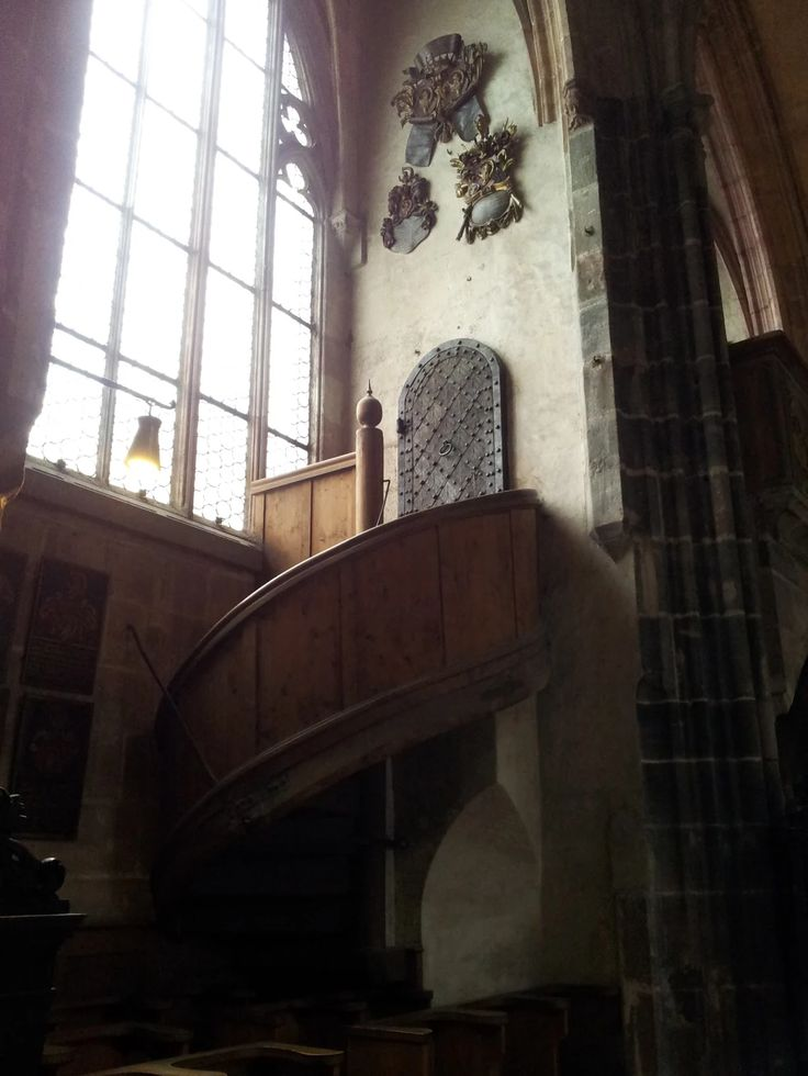 Inside the St. Lawrence church in Nürnberg, Middle Franconia
