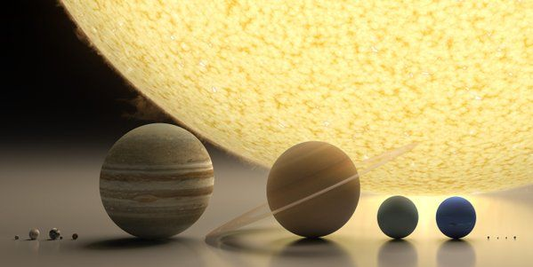 HighTechPanda @HighTechPanda  17m17 minutes ago The size of it all. Pluto is to the right of Neptune (169) Twitter
