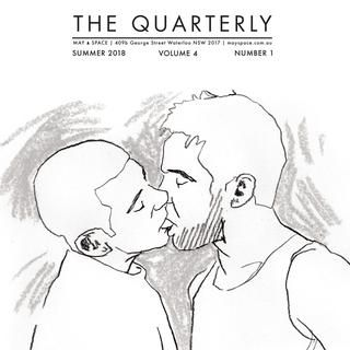 The Quarterly 4.1  Exhibition information and news for the first quarter -February - April 2018 - at MAY SPACE.