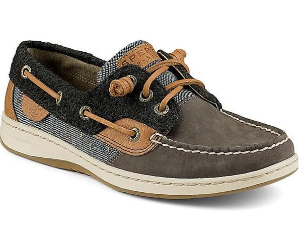 Bluefish Update with New Higher Vamp 3-Eye with Barrel Lace Detailing on Upper with Hidden Gore for Easy Slip-On Wearing Offered in Premium Nubuck, Leather, and