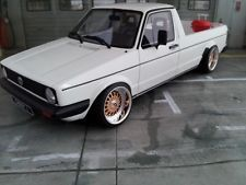 1:18 Scale VW VOLKSWAGEN CADDY MK1 GTI WITH BBS RS WHEELS! LIMITED!
