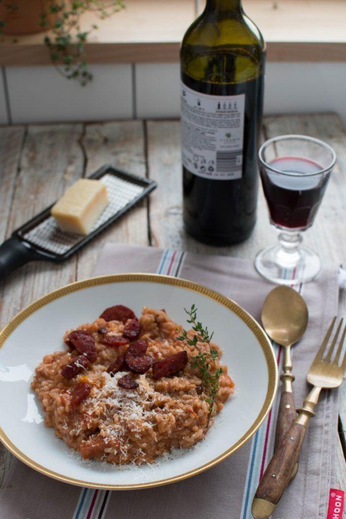 Pikantne Risotto Z Chorizo I Czerwonym Winem Kuchnia Agaty