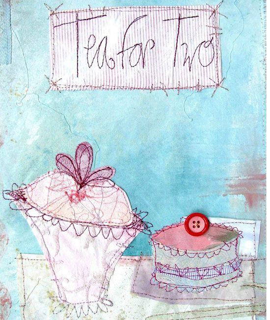 Creative Sketchbook: Afternoon Tea with Priscilla Jones!