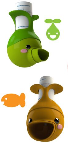 Inhaladores para peques con asma hechos con impresoras 3D
