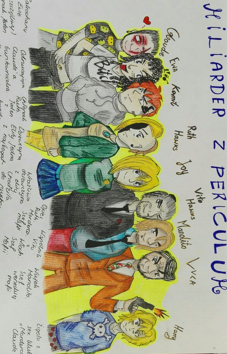 The characters of my book!