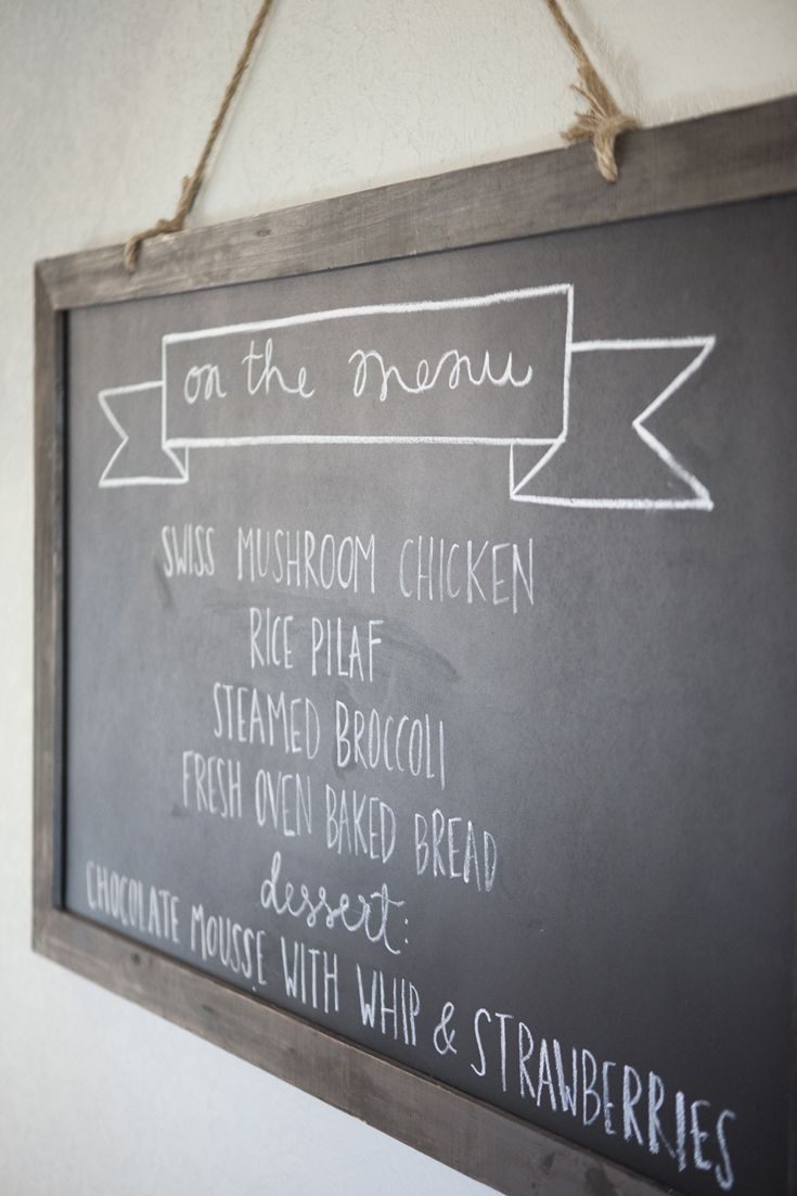 As Seen On HGTVu0027s Fixer Upper Chalkboard