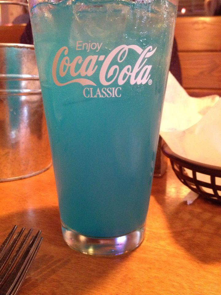 Blue crush lemonade at Texas Roadhouse | Delicious Nummies ...