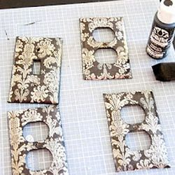 How To Cover Light Switch Plates