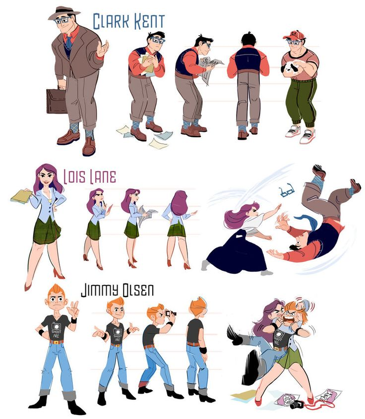Character Design Reference Facebook : Best images about character design line up on