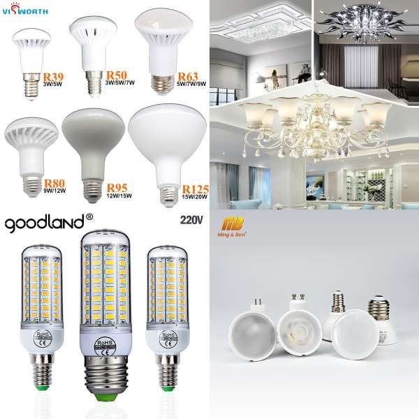 Super Bombillas Led Bulb E27 E14 Smd5730 E27 Led Lamp 36 48 56 69leds 220v Lampada Led Corn Bulb Chandelier Led Lights For Home
