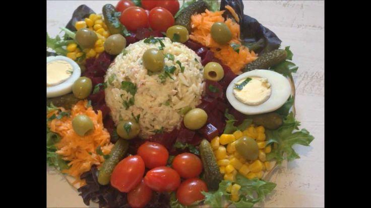 salade composee au riz et thon / recette de ramadan 2013