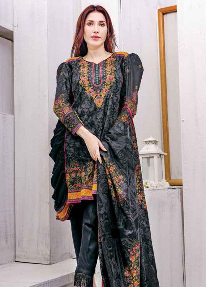 cff39e8895 Five Star Printed Lawn Unstitched 3 Piece Suit FS19L 1206A - Spring / Summer  Collection