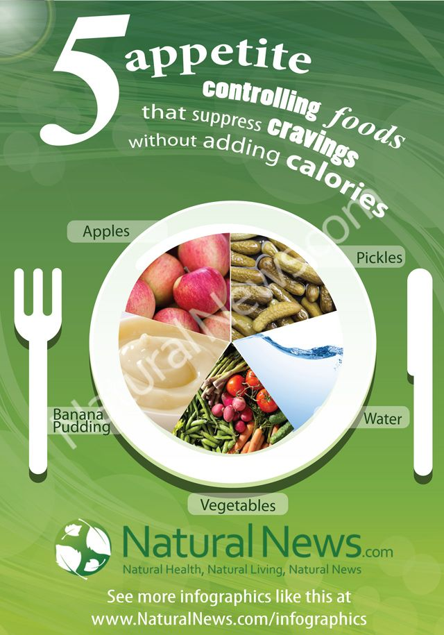5 appetite controlling foods that suppress cravings without adding calories by The Health Ranger