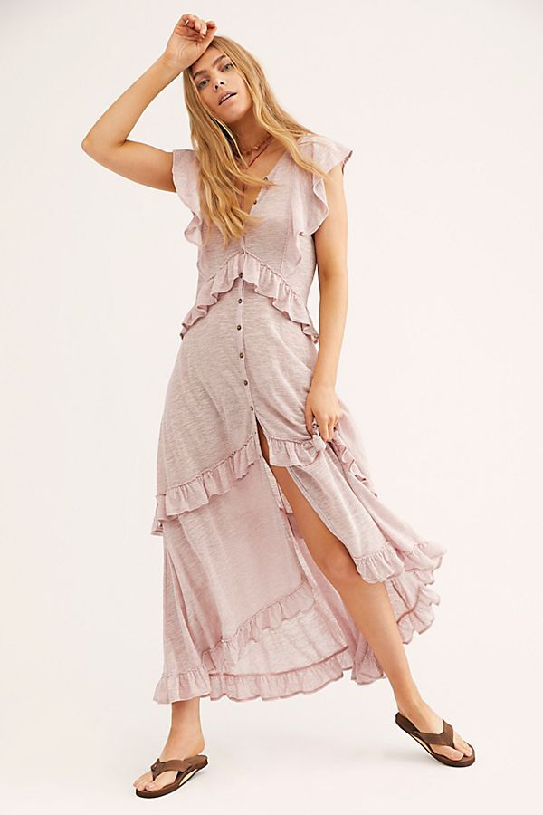 ac09c116866f Amelia Maxi Dress in 2019 | fashion | Dresses, Sheer maxi dress ...