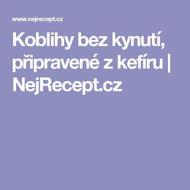 Koblihy bez kynutí, připravené z kefíru | NejRecept.cz