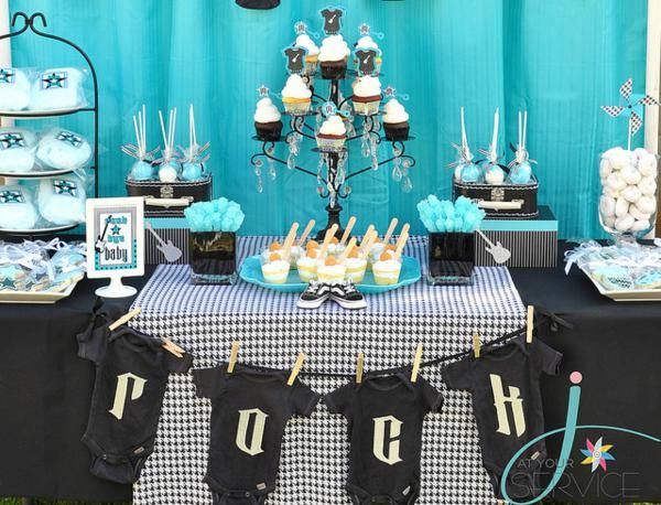 Rock N Roll Wedding Gift Ideas : from kara s party ideas rock a bye baby shower kara s party ideas the ...