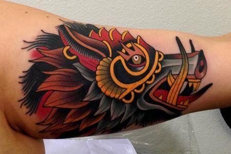 Jonathan Montalvo - war pig tattoo