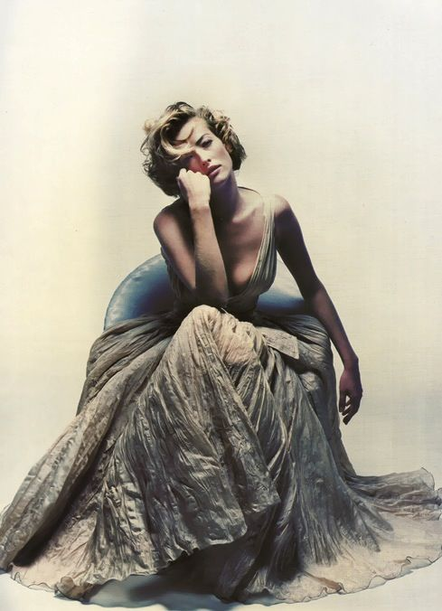 maliciousglamour:  Jil Sander, circa 1992Photographer: Nick Knight Model: Tatjana Patitz