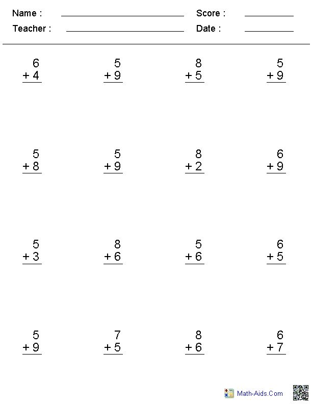 Worksheet 1st Math Worksheets 1000 ideas about first grade math worksheets on pinterest free with great options including no regrouping number of digits etc