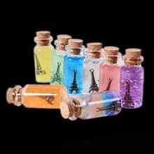 Бутылки стеклянные Флаконы с пробкой ремесла украшения мини бутылка крошечные ваза 22x50 мм(China (Mainland))