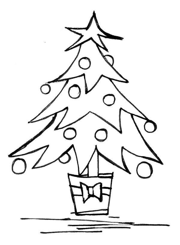 Christmas Tree Line Drawing Making The Web Com Christmas Tree Drawing Christmas Tree Drawing Easy Christmas Tree Clipart