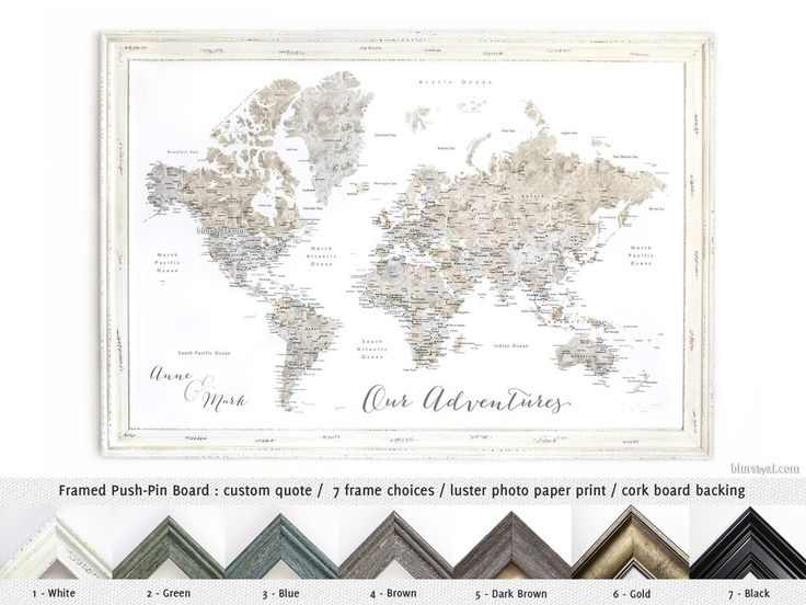 24 best cork map pin boards images on pinterest bulletin boards showcase your trips using one of our elite push pin boards handmade in usa elite framed push pin board world map with cities in neutral watercolor gumiabroncs Choice Image