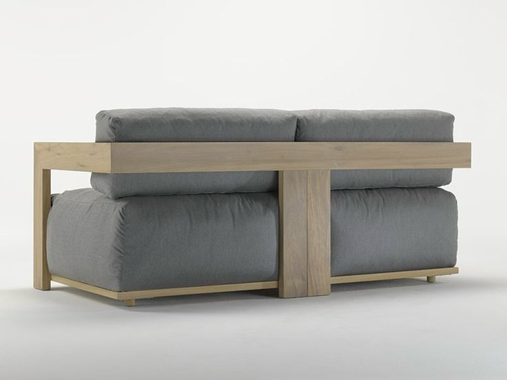 UPHOLSTERED IROKO SOFA CLOUD CLOUD COLLECTION BY MERIDIANI | DESIGN ANDREA PARISIO