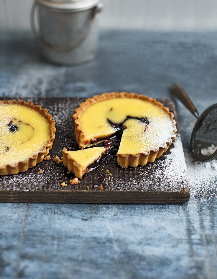 This tasty tart recipe is a great dessert on a warm summer's evening.