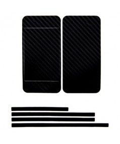 Купить Наклейка карбон для iPhone 4s | iPhone 4 черная на переднюю, заднюю и боковые части, доставка по Москве и всей РФ.