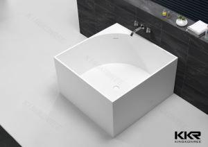 CE godkjenning fabrikken Solid overflate hjørne Ovalt badekar