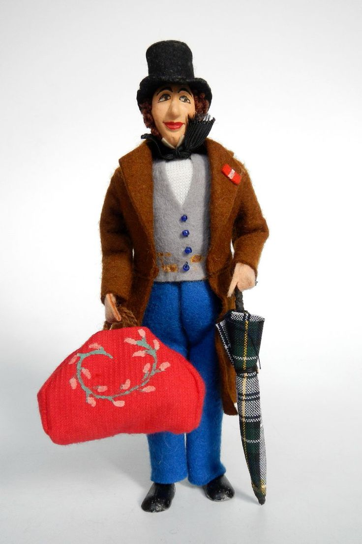 Denmark | Doll depicting the writer Hans Christian Andersen