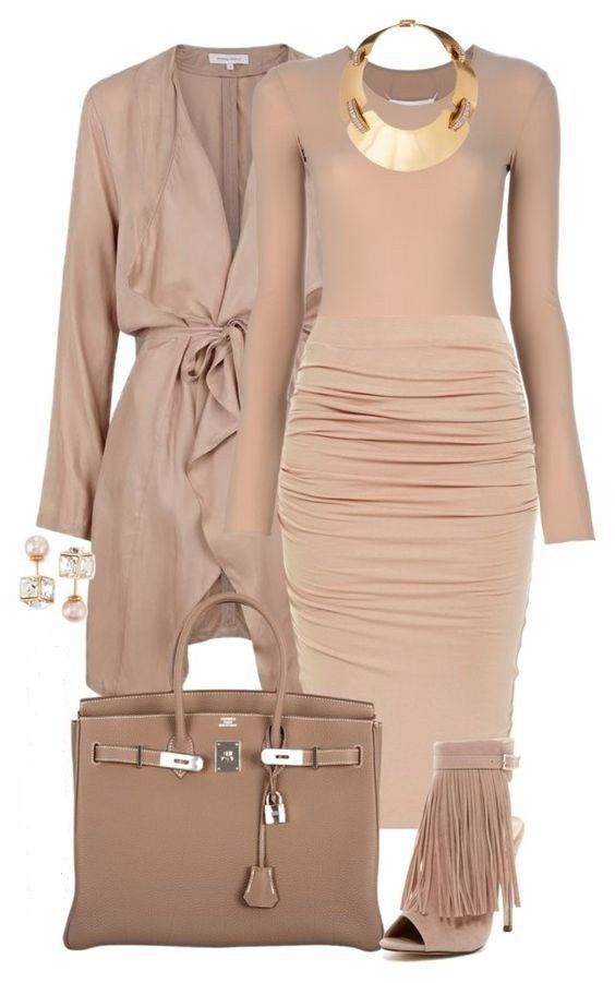 Style and fashion in clothing delicate color combinations