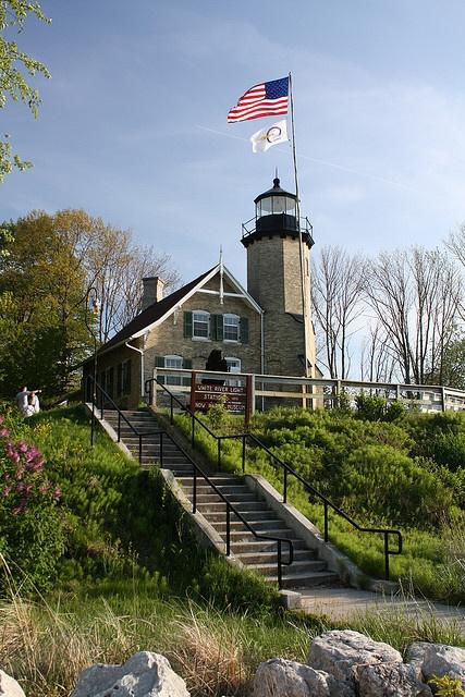 White River Lighthouse in White Lake, Michigan