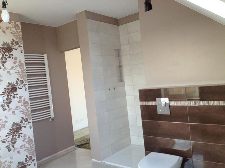 Łazienka w trakcie realizacji - Julka 3 MG Projekt  #bathroom #łazienka #interior #build