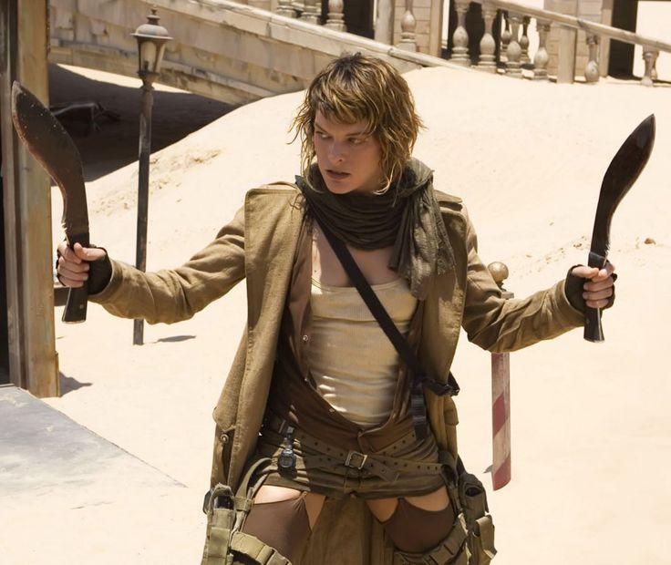 """Milla Jovovich en """"Resident Evil: Extinción"""", 2007"""