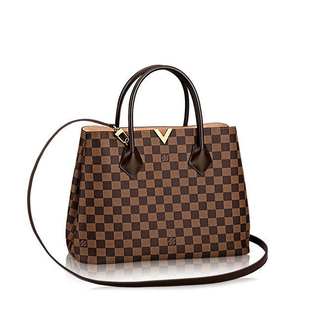 Kensington Damier Ebene Canvas - Handbags | LOUIS VUITTON
