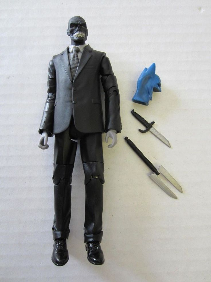 "Black Mask Action Figure 6 1/4"" DC Universe Classics #Unknown"